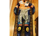 AM ex BSB motorcycle leathers