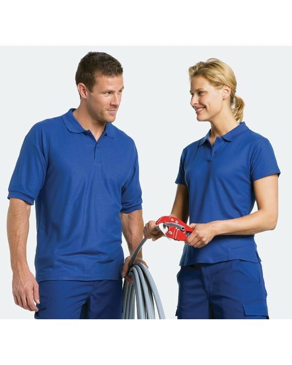 50 Custom Embroidered  FREE LOGO POLO SHIRTS Trade Show Men / Women $14 ea