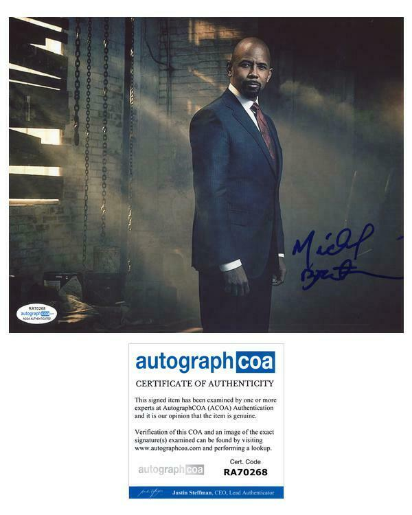 "Michael Boatman ""The Good Fight"" AUTOGRAPH Signed 8x10 Photo ACOA"