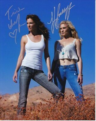 Katee Sackhoff   Tricia Helfer Signed Autographed Photo
