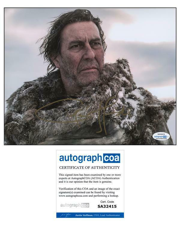 """Ciaran Hinds """"Game of Thrones"""" AUTOGRAPH Signed 'Mance Rayder' 8x10 Photo ACOA"""