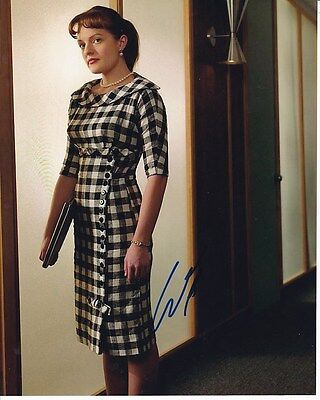 Elisabeth Moss Signed Autographed 8X10 Mad Men Peggy Olson Photograph