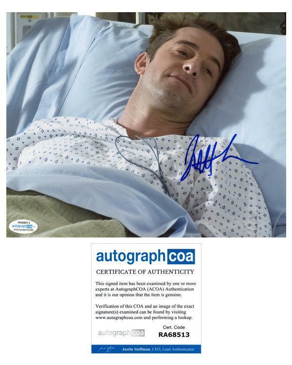 "Scott Speedman ""Grey's Anatomy"" AUTOGRAPH Signed 8x10 Photo ACOA"