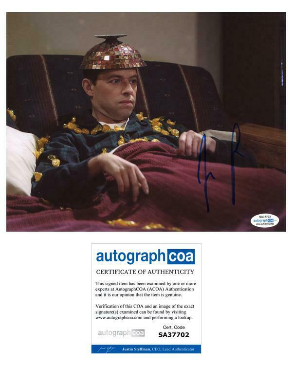 """Jon Cryer """"Two and a Half Men"""" AUTOGRAPH Signed 'Alan Harper' 8x10 Photo ACOA"""