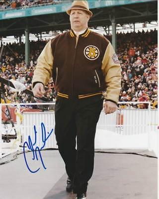 Claude Julien Signed Boston Bruins Winter Classic Coach 8X10 Photo  2 Autograph