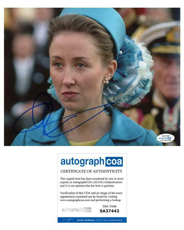 """Erin Doherty """"The Crown"""" AUTOGRAPH Signed 'Princess Anne' 8x10 Photo ACOA"""