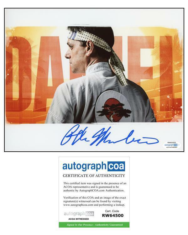 "Ralph Macchio ""Cobra Kai"" AUTOGRAPH Signed 'Daniel LaRusso' 8x10 Photo"