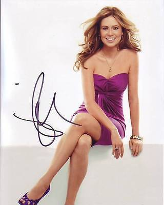 Jenna Fischer Signed Autographed 8X10 Beautiful Photograph