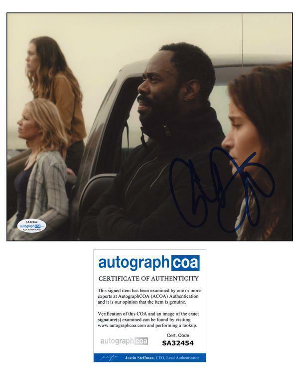 "Colman Domingo ""Fear the Walking Dead"" AUTOGRAPH Signed 'Victor' 8x10 Photo ACOA"