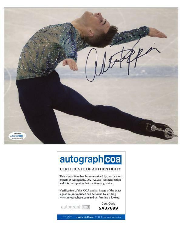 Adam Rippon AUTOGRAPH Signed Olympic Figure Skating 8x10 Photo ACOA