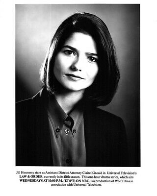 Jill Hennessy Law & Order Studio Portrait Original Photo