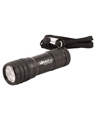 TACTICAL 9 LED TORCH
