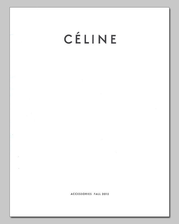CELINE Fall 2015 Women