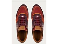 Worn once Bally trainers size 8
