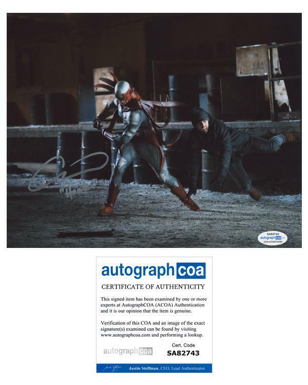 "Alan Ritchson ""Titans"" AUTOGRAPH Signed 'Hank Hall/Hawk' 8x10 Photo B ACOA"