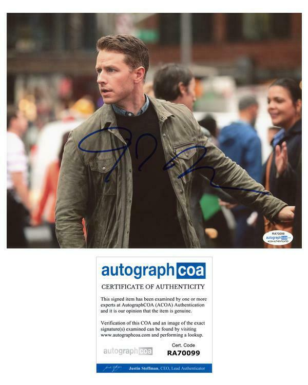 "Josh Dallas ""Manifest"" AUTOGRAPH Signed 8x10 Photo F ACOA"