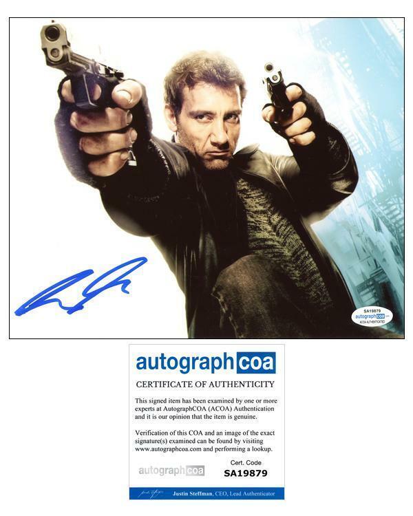 "Clive Owen ""Shoot 'Em Up"" AUTOGRAPH Signed 'Smith' 8x10 Photo ACOA"