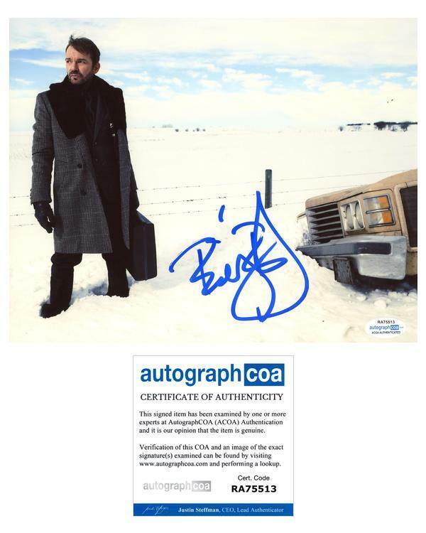 "Billy Bob Thornton ""Fargo"" AUTOGRAPH Signed 8x10 Photo ACOA"