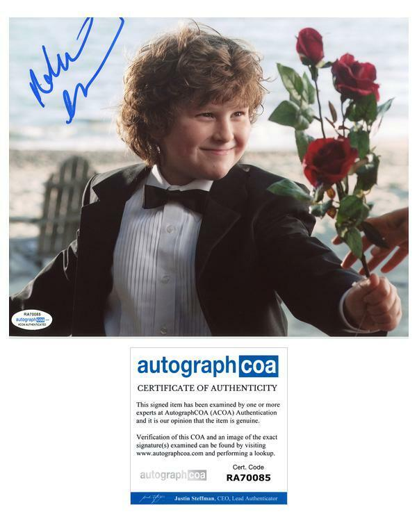 "Nolan Gould ""Modern Family"" AUTOGRAPH Signed 8x10 Photo B ACOA"