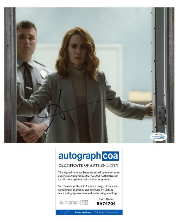 "Sarah Paulson ""Glass"" AUTOGRAPH Signed 8x10 Photo ACOA"