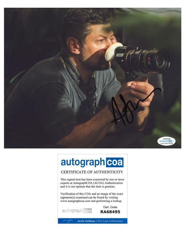 """Andy Serkis """"Mowgli: Legend of the Jungle"""" Director AUTOGRAPH Signed 8x10 Photo"""