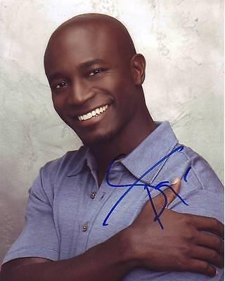 Taye Diggs Signed Photo W  Hologram Coa