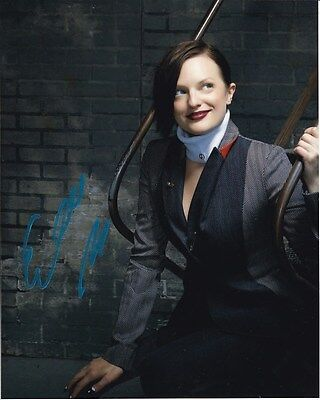 Elisabeth Moss Signed Autographed Photo W  Hologram Coa