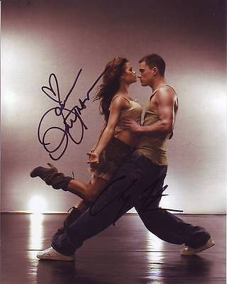 Channing Tatum Jenna Dewan Tatum Signed Step Up Photo W  Hologram Coa