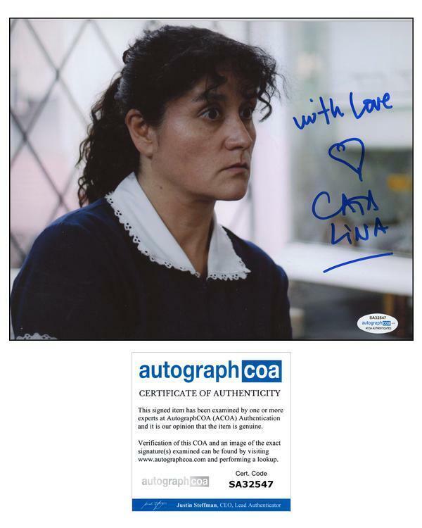 """Catalina Saavedra """"The Maid"""" AUTOGRAPH Signed 'La Nana' 8x10 Photo ACOA"""