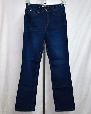 - DG2 SuperStretch Lite Boot Cut Jean w/ Embellished Back Pocket Indigo #CHS01006