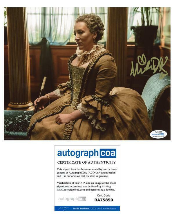 "Maria Doyle-Kennedy ""Outlander"" AUTOGRAPH Signed 8x10 Photo ACOA"