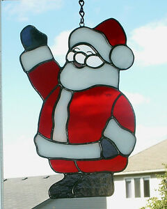 stained glass santas Stratford Kitchener Area image 2