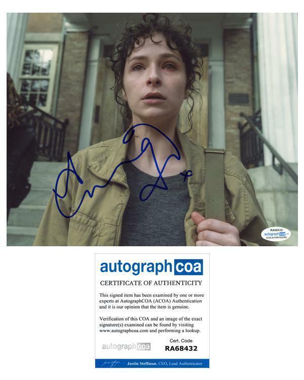 "Ashleigh Cummings ""NOS4A2"" AUTOGRAPH Signed 8x10 Photo ACOA"