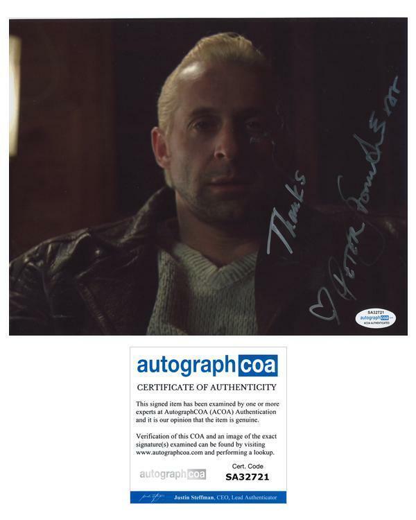 "Peter Stormare ""Fargo"" AUTOGRAPH Signed 'Gaear Grimsrud' 8x10 Photo ACOA"