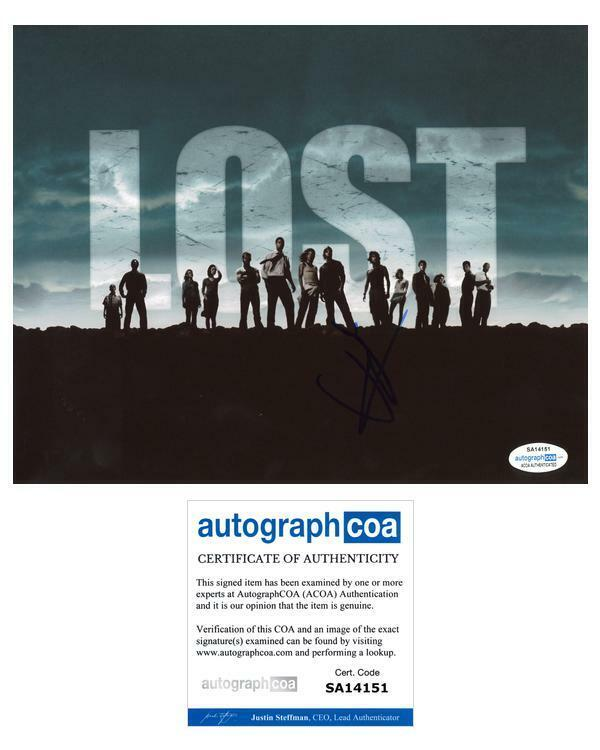 """J.J. Abrams """"Lost"""" AUTOGRAPH Signed 8x10 Photo ACOA"""