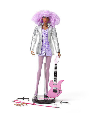 """Jem and the Holograms 12"""" Collectible Doll: Shana Elmsford"""