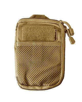 POCKET BUDDY BELT POUCH PHONE NOTEPAD MULTI USE ACCESSORY BAG - COYOTE TAN Buddy Phone