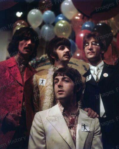 8x10 Print Beatles Paul McCartney John Lennon All You Need is Love 1967 #AYNL