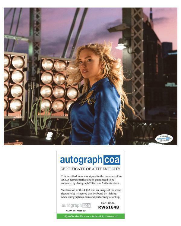 "Natalie Alyn Lind ""Daybreak"" AUTOGRAPH Signed 8x10 Photo ACOA Witness ITP"