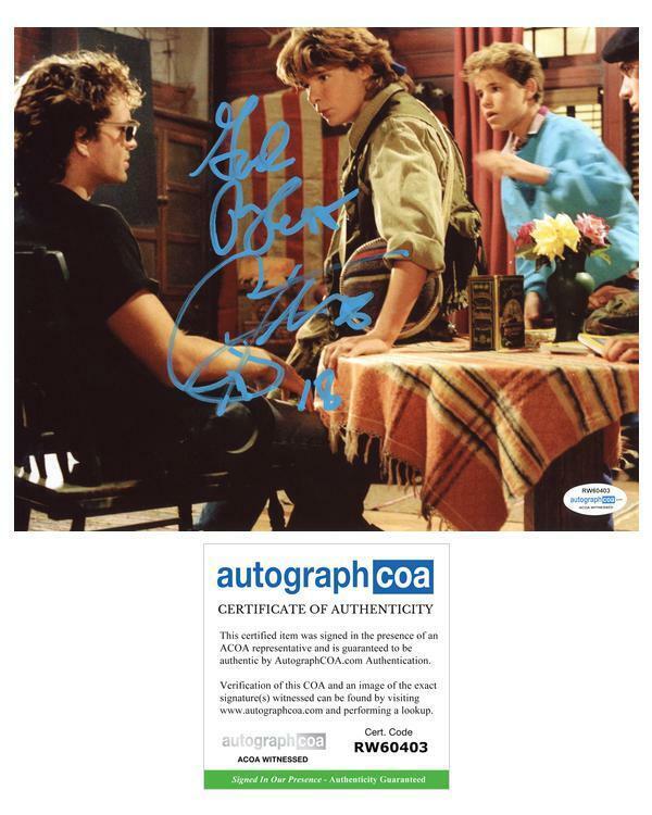 "Corey Feldman ""The Lost Boys"" AUTOGRAPH Signed 8x10 Photo B Witnessed"