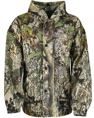 Kombat UK Huntsbury Kid's Hunting Jacket English Hedgerow Camo Hunting Shooting