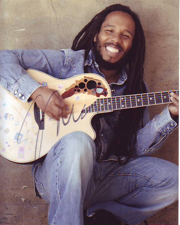 Ziggy Marley Signed Autographed 8x10 Photograph