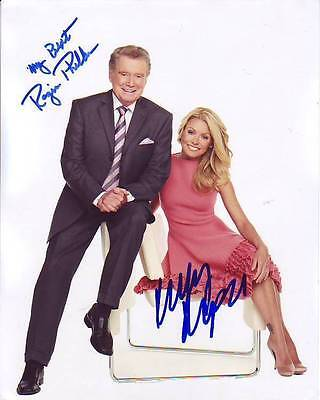 Regis Philbin   Kelly Ripa Signed Autographed Photo