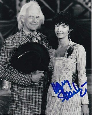 Mary Steenburgen Signed Back To The Future Part Iii Clara Clayton Photo