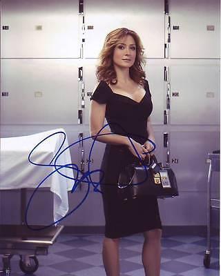 Sasha Alexander Signed Autographed 8X10 Rizzoli   Isles Maura Photograph
