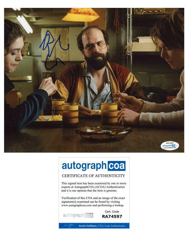 "Brett Gelman ""Stranger Things"" AUTOGRAPH Signed 8x10 Photo ACOA"