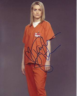 Taylor Schilling Signed Orange Is The New Black Photo W  Hologram Coa