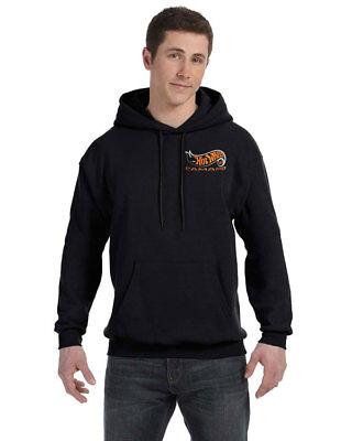 Custom Embroidered Hot Wheels 50th Anniversary Camaro Pullover Hooded Sweatshirt