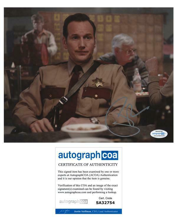 "Patrick Wilson ""Fargo"" AUTOGRAPH Signed 'Lou Solverson' 8x10 Photo B ACOA"