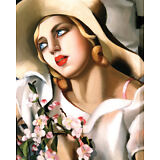 Portrait Fille Art Poster Print by Tamara de Lempicka, 16x20